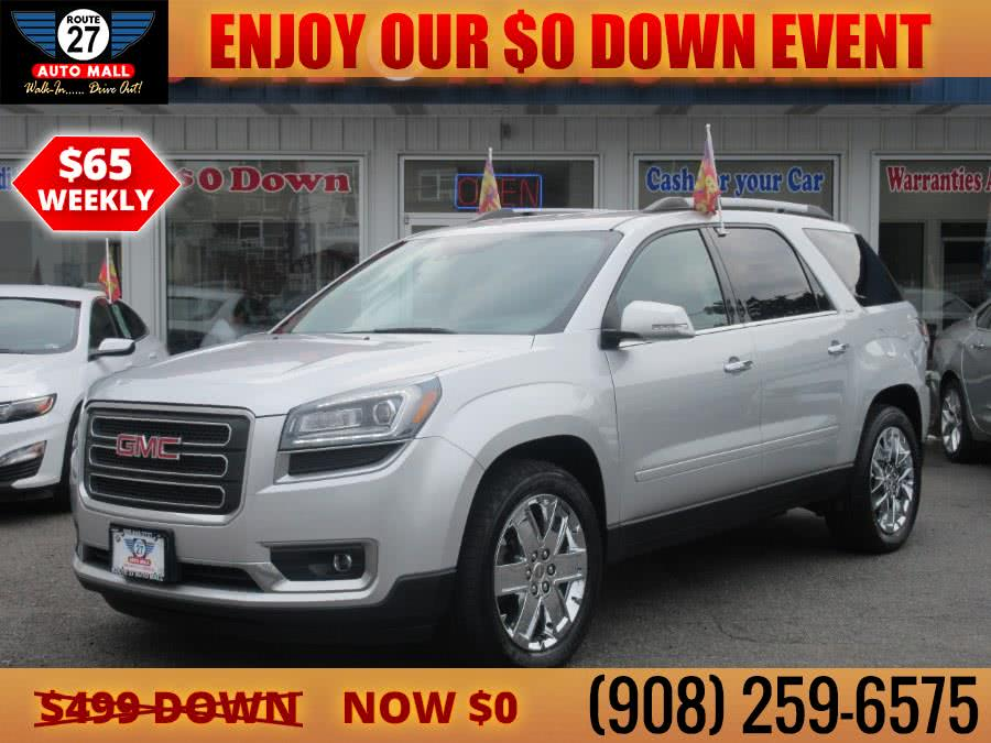 Used 2017 GMC Acadia Limited in Linden, New Jersey | Route 27 Auto Mall. Linden, New Jersey