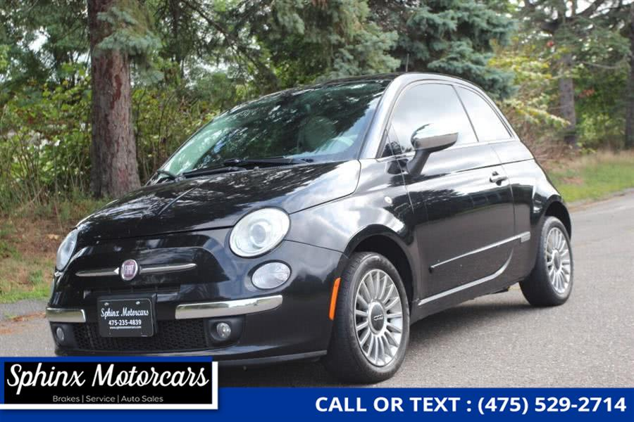 Used Fiat 500 Lounge 2dr Hatchback 2012 | Sphinx Motorcars. Waterbury, Connecticut