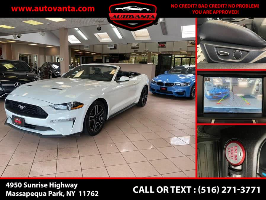 Used 2018 Ford Mustang in Massapequa Park, New York | Autovanta. Massapequa Park, New York