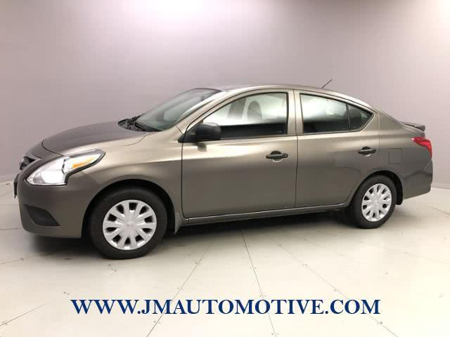 Used Nissan Versa 4dr Sdn CVT 1.6 S Plus 2015 | J&M Automotive Sls&Svc LLC. Naugatuck, Connecticut