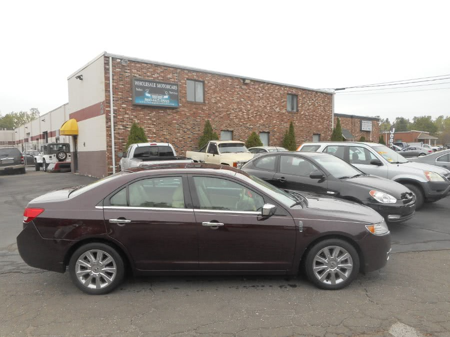 Used Lincoln MKZ 4dr Sdn AWD 2011 | Wholesale Motorcars LLC. Newington, Connecticut