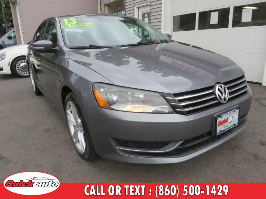 Used 2013 Volkswagen Passat in Bristol, Connecticut | Quick Auto LLC. Bristol, Connecticut