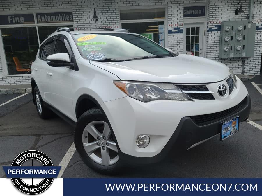 Used Toyota RAV4 AWD 4dr XLE (Natl)Sun Roof 2013 | Performance Motor Cars. Wilton, Connecticut