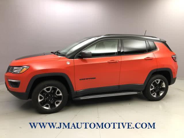 Used Jeep Compass Trailhawk 4x4 2018 | J&M Automotive Sls&Svc LLC. Naugatuck, Connecticut