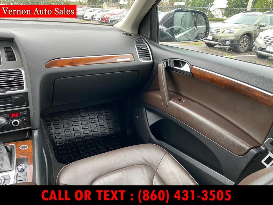 Used Audi Q7 quattro 4dr 3.0T Premium Plus 2013   Vernon Auto Sale & Service. Manchester, Connecticut