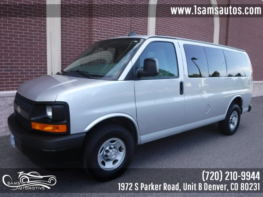 Used 2017 Chevrolet Express Passenger in Denver, Colorado | Sam's Automotive. Denver, Colorado