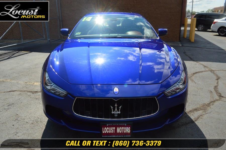 Used Maserati Ghibli 4dr Sdn S Q4 2014   Locust Motors LLC. Hartford, Connecticut