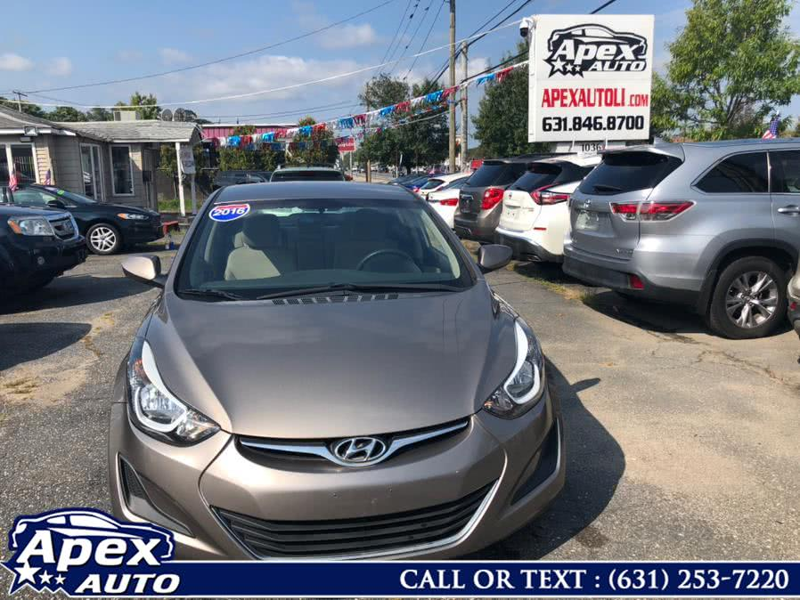 Used Hyundai Elantra 4dr Sdn Auto SE (Alabama Plant) 2016 | Apex Auto. Selden, New York