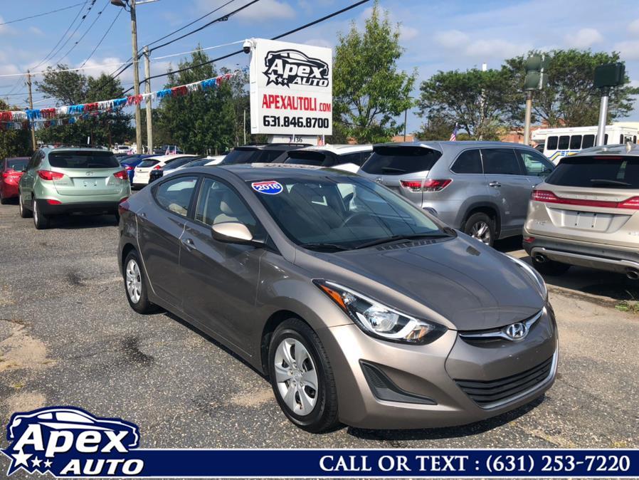 Used 2016 Hyundai Elantra in Selden, New York | Apex Auto. Selden, New York