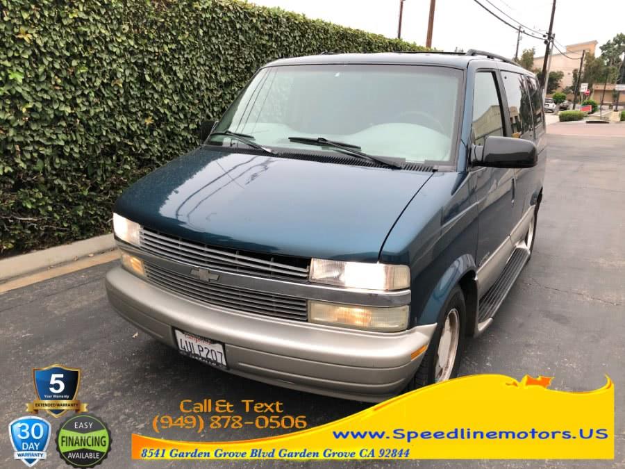 "Used Chevrolet Astro Passenger 111"" WB RWD 2001 | Speedline Motors. Garden Grove, California"