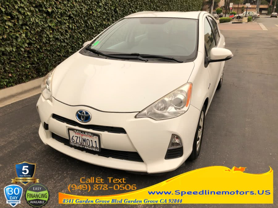 Used 2012 Toyota Prius c in Garden Grove, California | Speedline Motors. Garden Grove, California