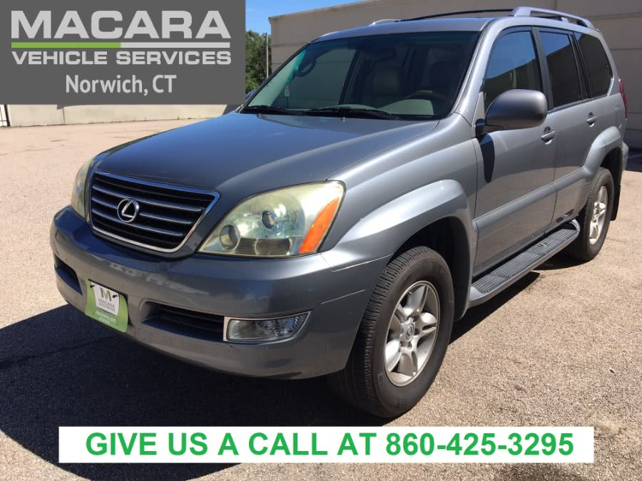 Used Lexus GX 470 4dr SUV 4WD 2006 | MACARA Vehicle Services, Inc. Norwich, Connecticut