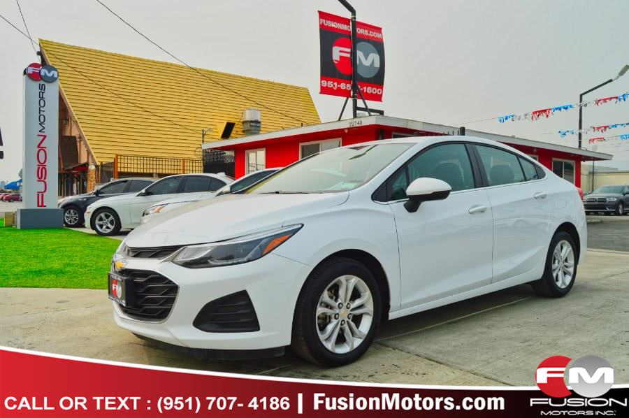 Used Chevrolet Cruze 4dr Sdn LT 2019 | Fusion Motors Inc. Moreno Valley, California