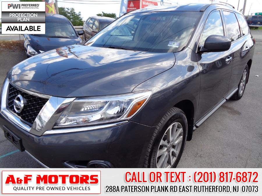 Used Nissan Pathfinder 4WD 4dr SV 2014 | A&F Motors LLC. East Rutherford, New Jersey