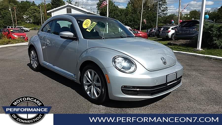 Used Volkswagen Beetle Coupe 2dr DSG 2.0L TDI 2013 | Performance Motor Cars. Wilton, Connecticut