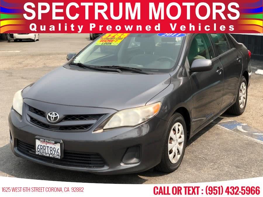 Used 2011 Toyota Corolla in Corona, California | Spectrum Motors. Corona, California