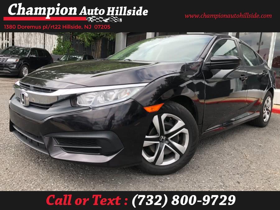Used 2017 Honda Civic Sedan in Hillside, New Jersey | Champion Auto Sales. Hillside, New Jersey