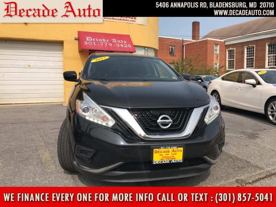 Used 2017 Nissan Murano in Bladensburg, Maryland | Decade Auto. Bladensburg, Maryland
