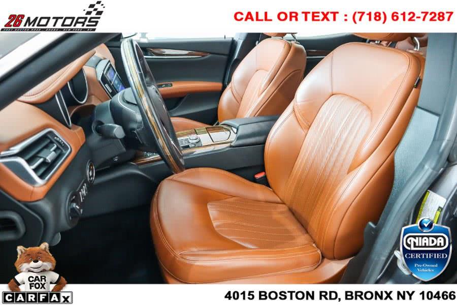 Used Maserati Ghibli S Q4 3.0L 2017 | 26 Motors Corp. Bronx, New York