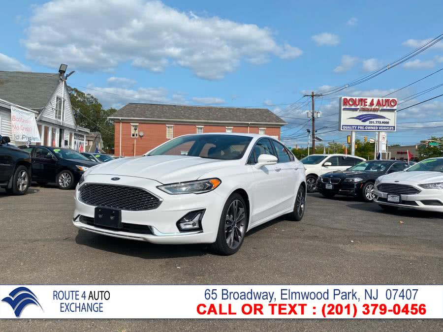 Used Ford Fusion Titanium AWD 2020 | Route 4 Auto Exchange. Elmwood Park, New Jersey
