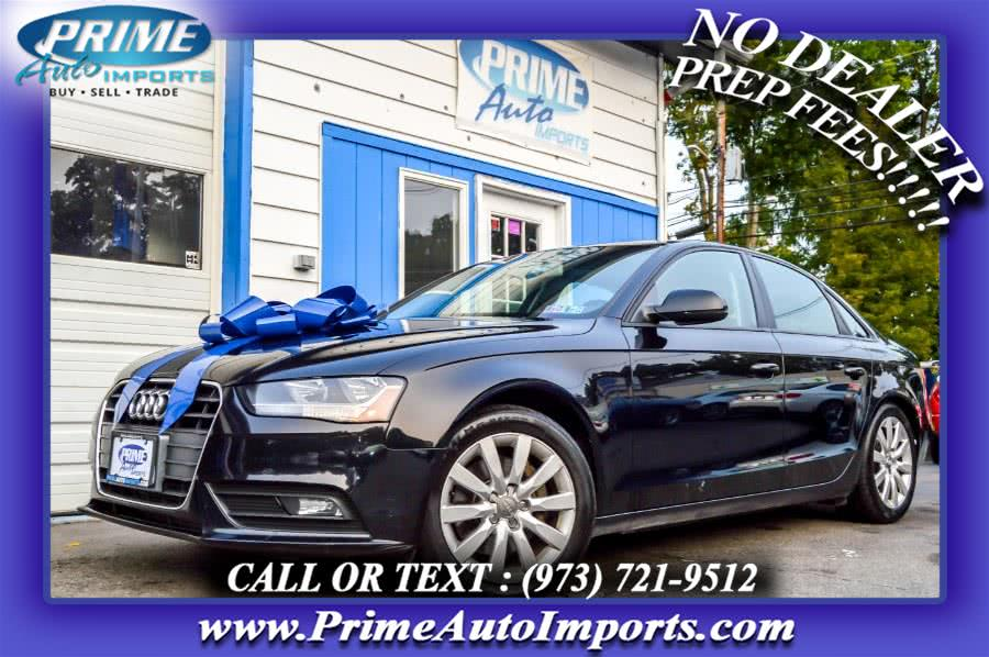 Used 2014 Audi A4 in Bloomingdale, New Jersey | Prime Auto Imports. Bloomingdale, New Jersey