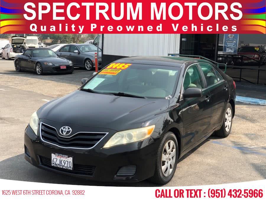 Used Toyota Camry 4dr Sdn I4 Auto LE 2010 | Spectrum Motors. Corona, California