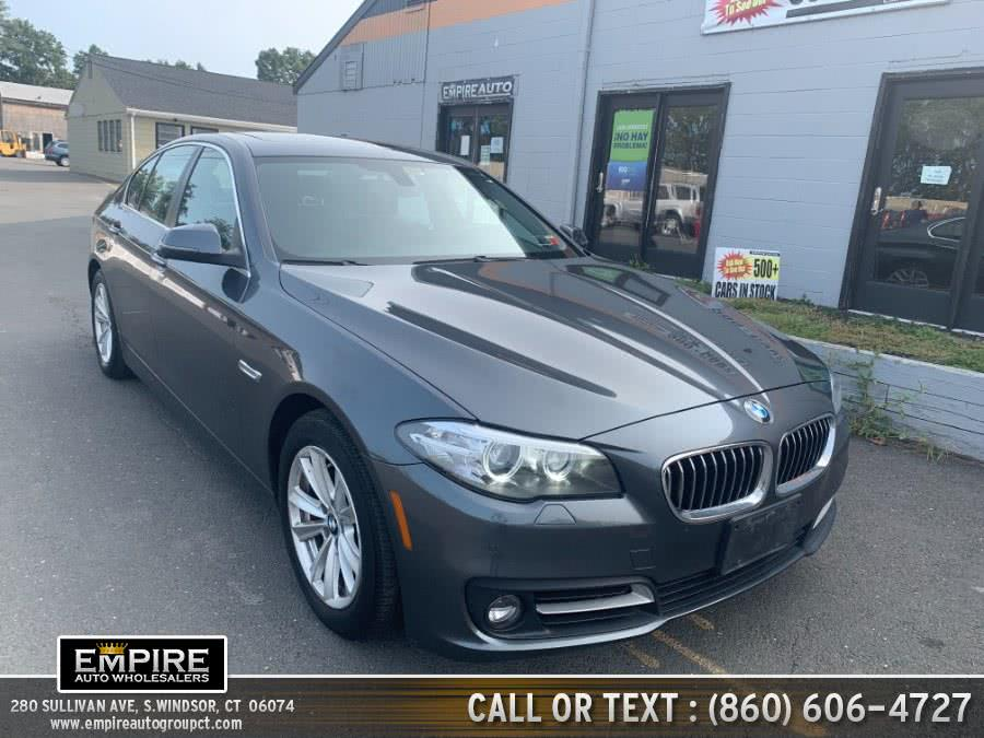Used BMW 5 Series 4dr Sdn 528i xDrive AWD 2016 | Empire Auto Wholesalers. S.Windsor, Connecticut