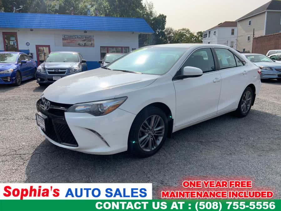 Used 2016 Toyota Camry in Worcester, Massachusetts | Sophia's Auto Sales Inc. Worcester, Massachusetts