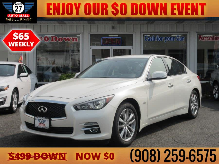 Used 2017 INFINITI Q50 in Linden, New Jersey | Route 27 Auto Mall. Linden, New Jersey