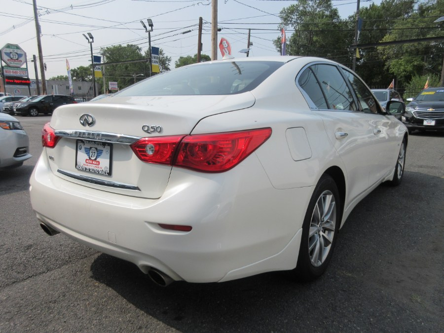 Used INFINITI Q50 2.0t Premium AWD 2017 | Route 27 Auto Mall. Linden, New Jersey