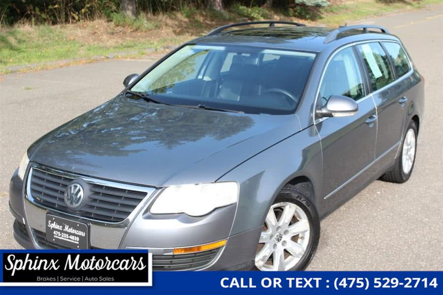Used Volkswagen Passat 2.0T 4dr Wagon N/A 06/06 (2L I4 6A) 2007 | Sphinx Motorcars. Waterbury, Connecticut