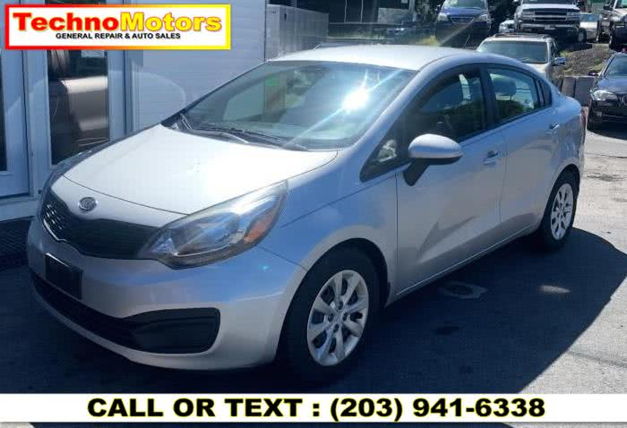 Used 2012 Kia Rio in Danbury , Connecticut | Techno Motors . Danbury , Connecticut