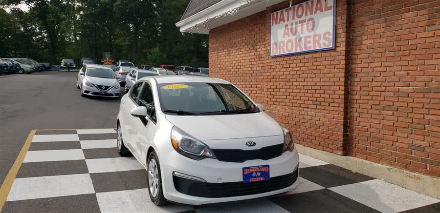 Used 2017 Kia Rio in Waterbury, Connecticut | National Auto Brokers, Inc.. Waterbury, Connecticut