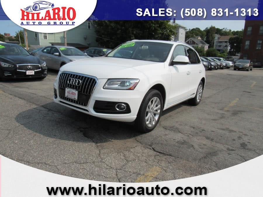 Used Audi Q5 Premium Plus 2015 | Hilario's Auto Sales Inc.. Worcester, Massachusetts