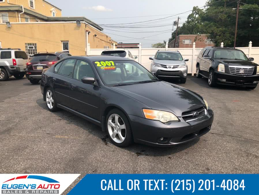 Used 2007 Subaru Legacy Sedan in Philadelphia, Pennsylvania | Eugen's Auto Sales & Repairs. Philadelphia, Pennsylvania