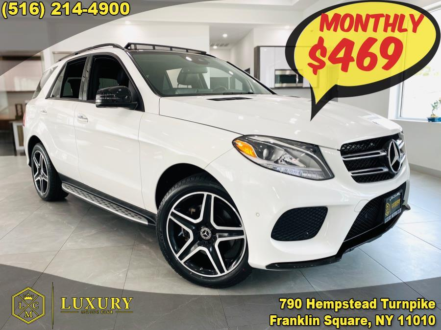 Used Mercedes-Benz GLE GLE350 4MATIC SUV 2017 | Luxury Motor Club. Franklin Square, New York
