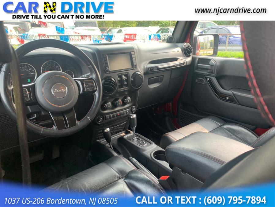 Used Jeep Wrangler Unlimited Sahara 4WD 2012 | Car N Drive. Bordentown, New Jersey
