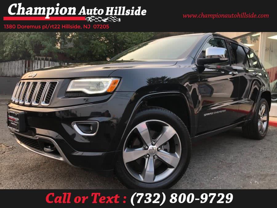 Used 2016 Jeep Grand Cherokee in Hillside, New Jersey | Champion Auto Sales. Hillside, New Jersey