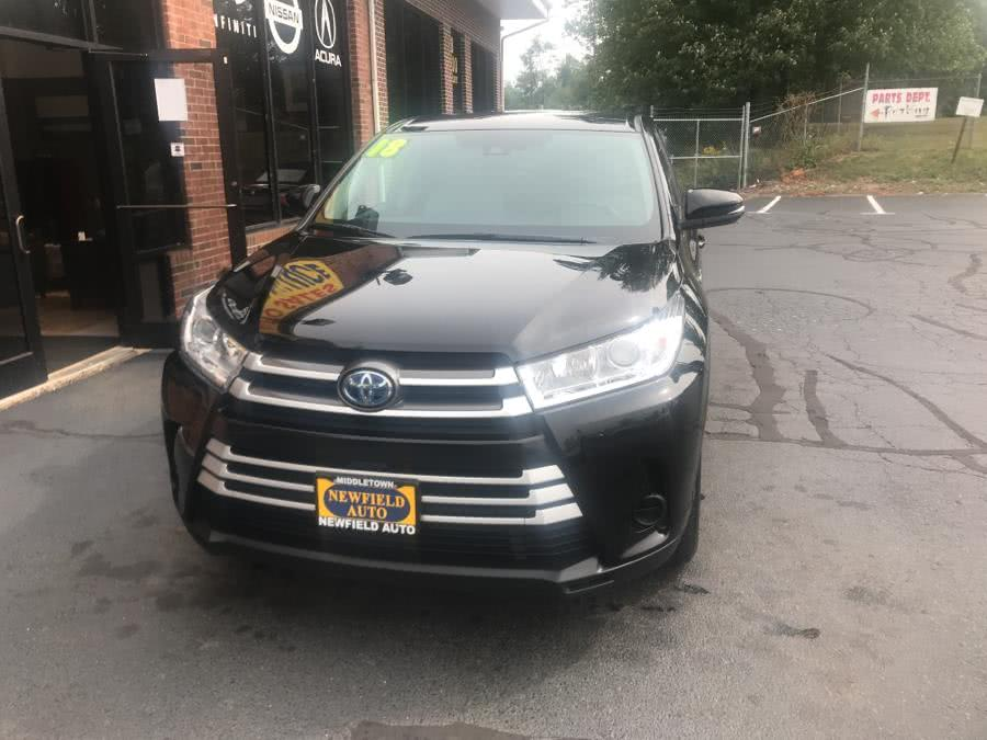 Used Toyota Highlander Hybrid LE V6 AWD (Natl) 2018   Newfield Auto Sales. Middletown, Connecticut