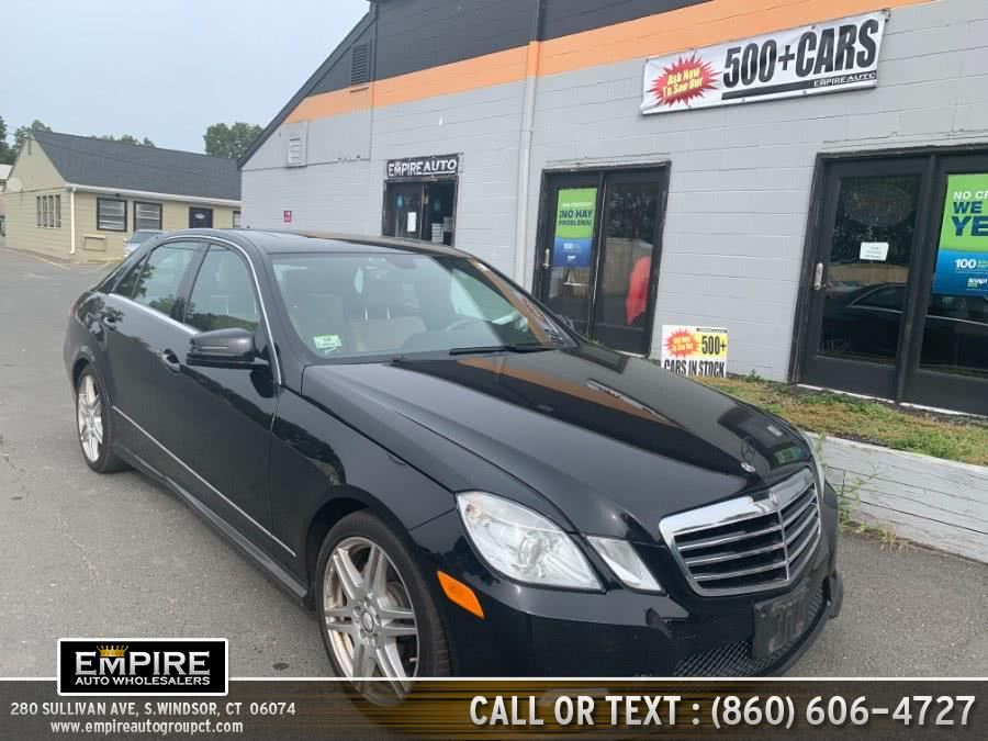 Used Mercedes-Benz E-Class 350-sport 2011 | Empire Auto Wholesalers. S.Windsor, Connecticut