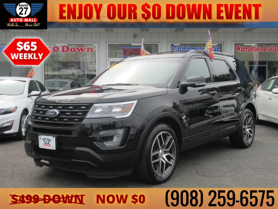 Used 2017 Ford Explorer in Linden, New Jersey | Route 27 Auto Mall. Linden, New Jersey