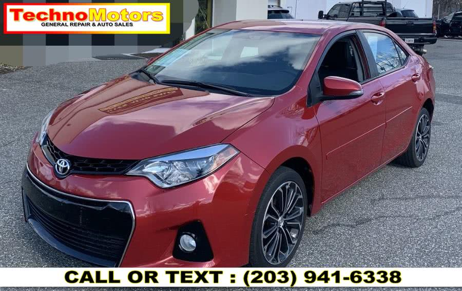 Used 2016 Toyota Corolla in Danbury , Connecticut | Techno Motors . Danbury , Connecticut