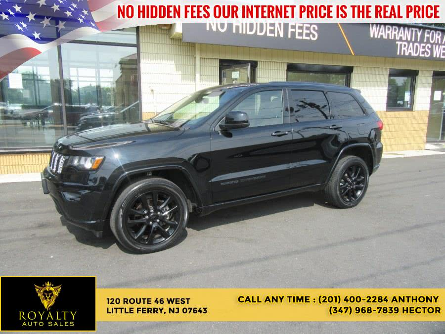 Used 2017 Jeep Grand Cherokee in Little Ferry, New Jersey | Royalty Auto Sales. Little Ferry, New Jersey