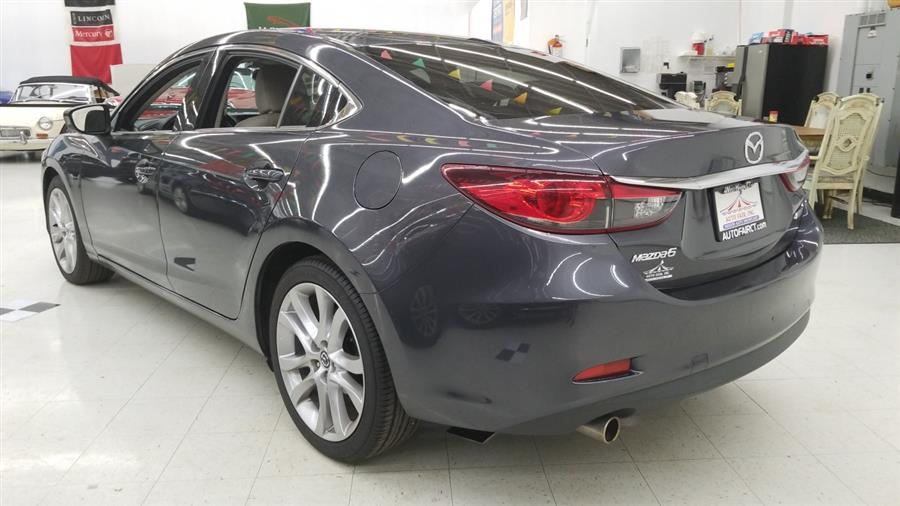 2015 Mazda Mazda6 4dr Sdn Auto i Touring, available for sale in West Haven, CT