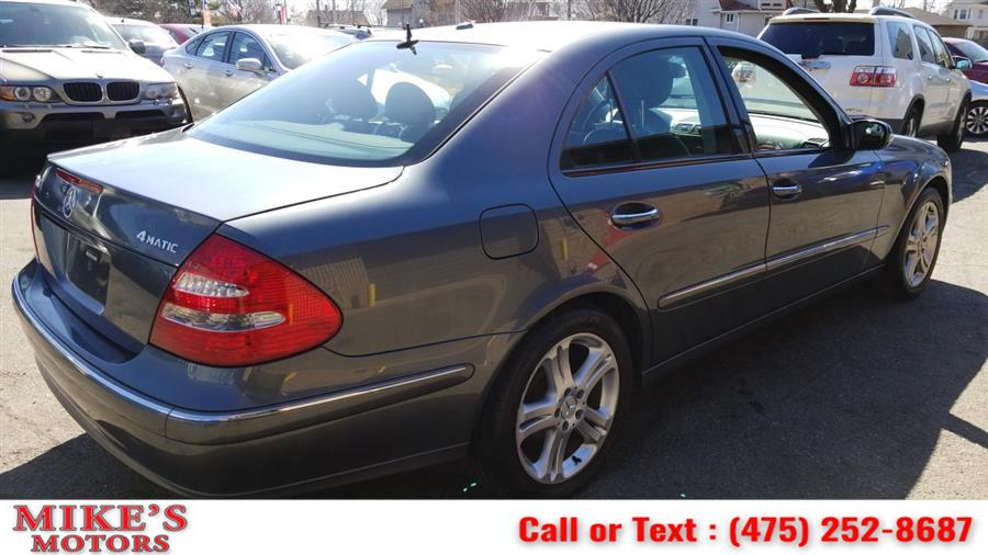 Used Mercedes-Benz E-Class 4dr Sdn 3.5L 4MATIC 2006 | Mike's Motors LLC. Stratford, Connecticut