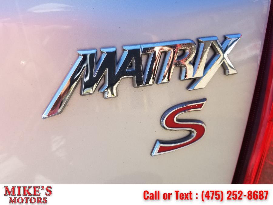 Used Toyota Matrix 5dr Wgn Man S FWD (Natl) 2009 | Mike's Motors LLC. Stratford, Connecticut