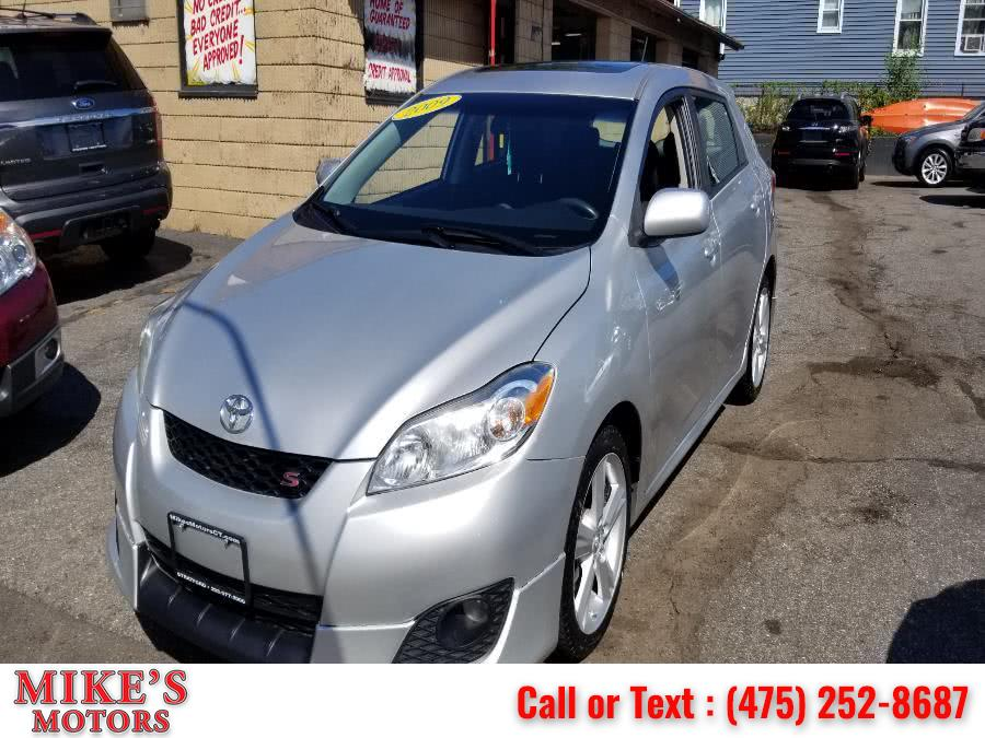 Used Toyota Matrix 5dr Wgn Man S FWD (Natl) 2009 | Mike's Motors LLC. Stratford, Connecticut
