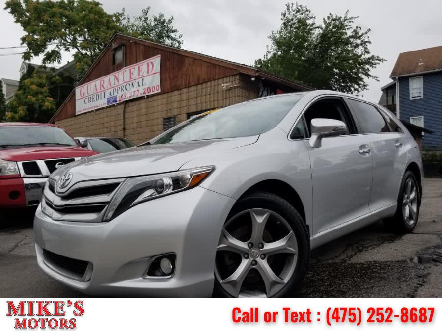 2013 Toyota Venza 4dr Wgn V6 AWD Limited (Natl), available for sale in Stratford, CT