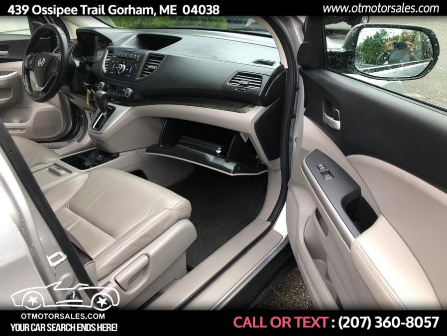 Used Honda CR-V EXL 2013 | Ossipee Trail Motor Sales. Gorham, Maine