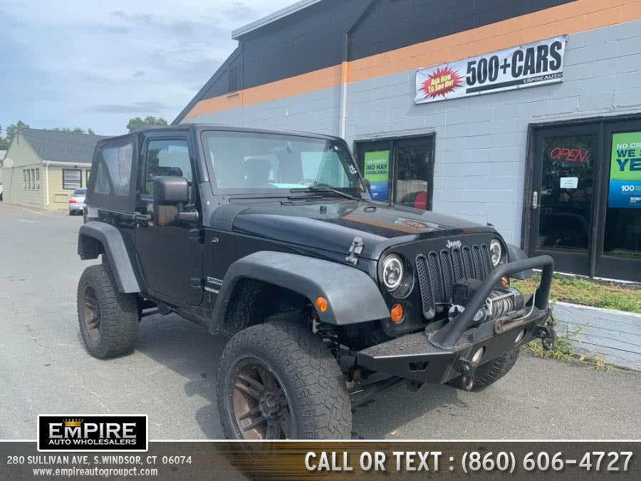 Used Jeep Wrangler 4WD 2dr Sport 2010 | Empire Auto Wholesalers. S.Windsor, Connecticut